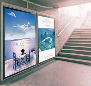 Exclusive GreeK Properties Athens Metro Advertisment