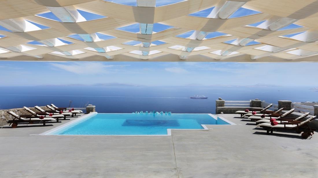 Sea view Mykonos Villas, Up to 12 Guests