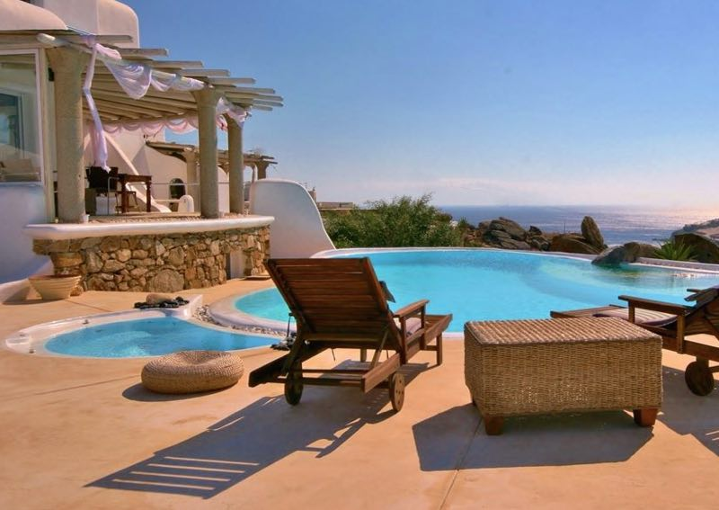 See view Villas at Super Paradise Mykonos