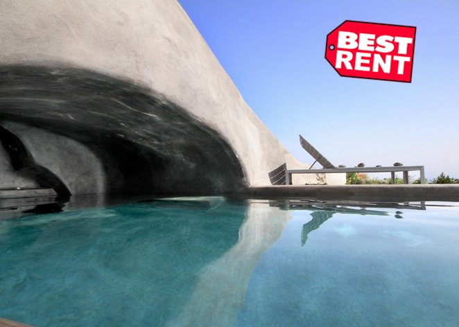 Luxury Cave Suite for Rent  Oia  Santorini