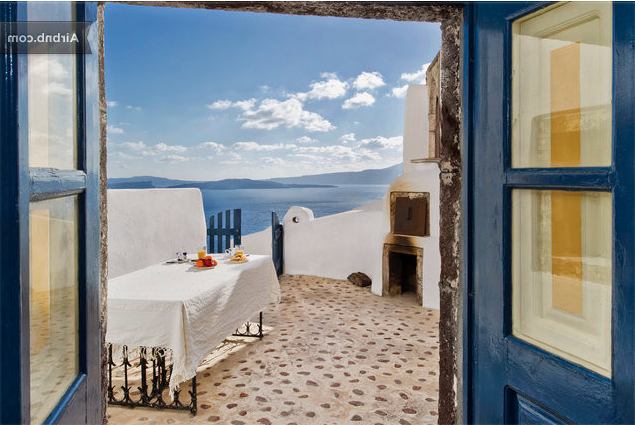 圣托里尼 房子卖给希腊 Lux Suite for Sale Santorini