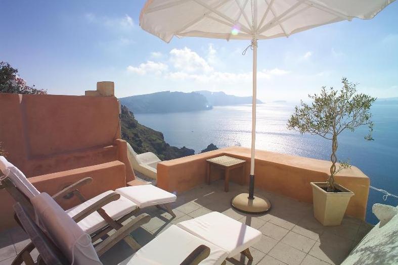圣托里尼-房子卖给希腊-Lux-Villa-for-Sale-Santorini 2