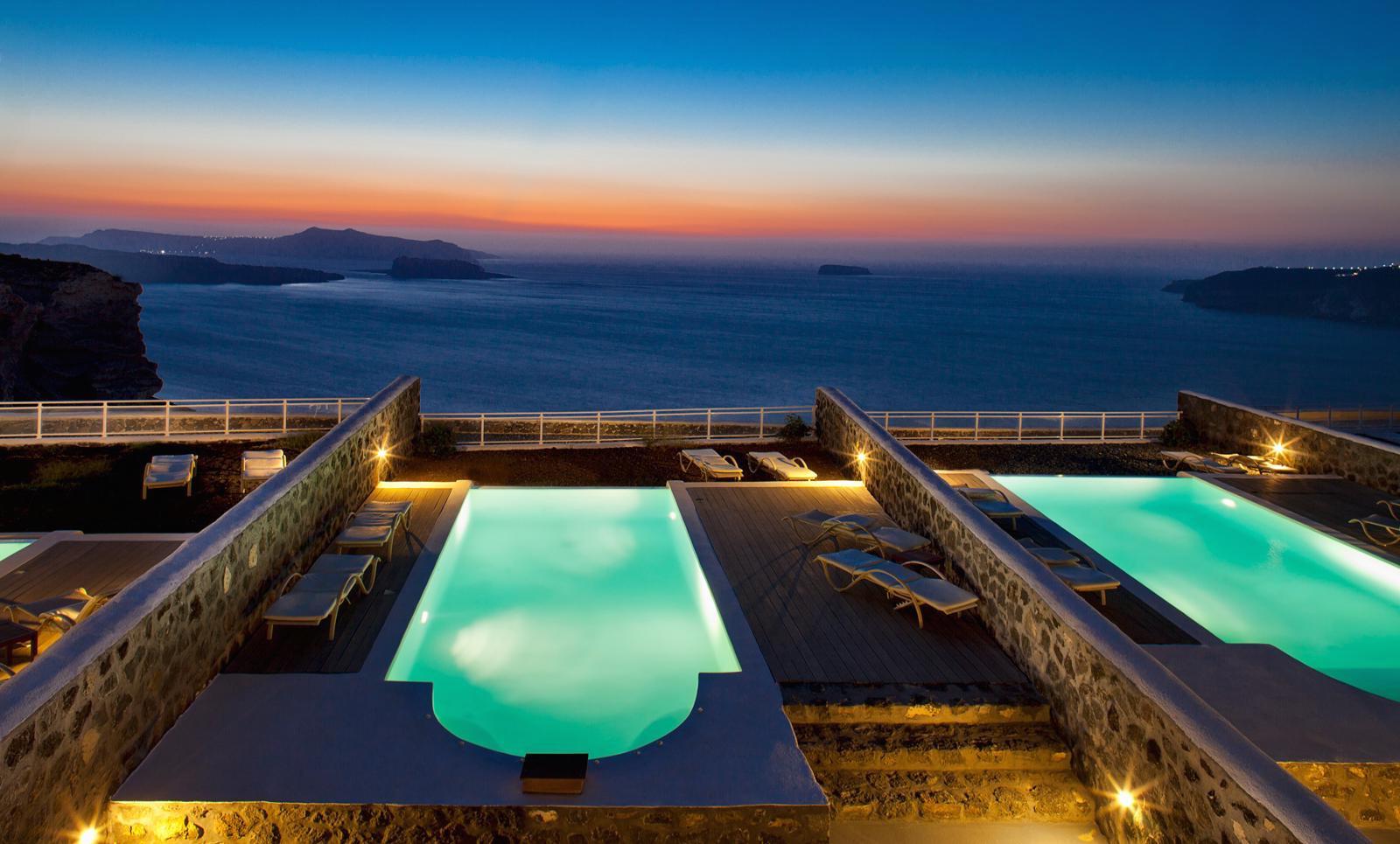 Lux Villa For Rent Santorini