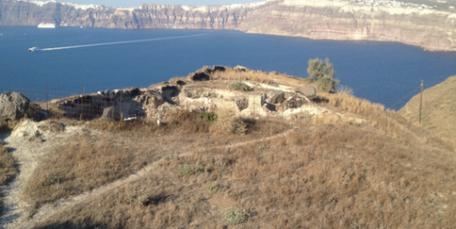 Land For Sale At Caldera Santorini