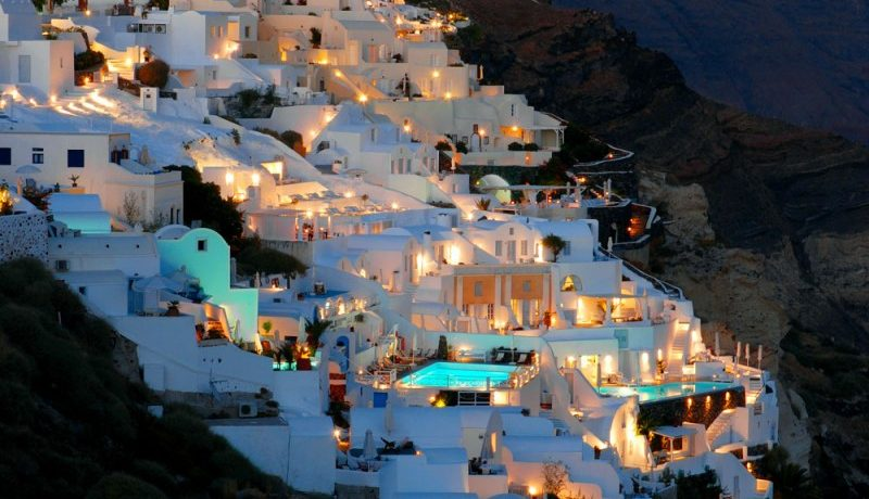 At The Best Location Of Oia Santorini Caldera Hotel For
