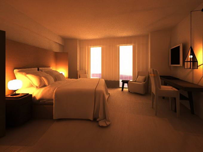 Greek Exclusive Properties Construction Division Luxury Hotel 3D 4