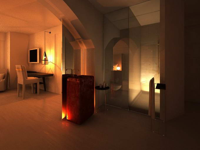 Greek Exclusive Properties Construction Division Luxury Hotel 3D 5