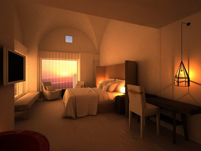 Greek Exclusive Properties Construction Division Luxury Hotel 3D