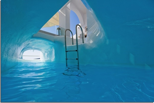 Luxury Cave Villa At Oia Santorini For 2