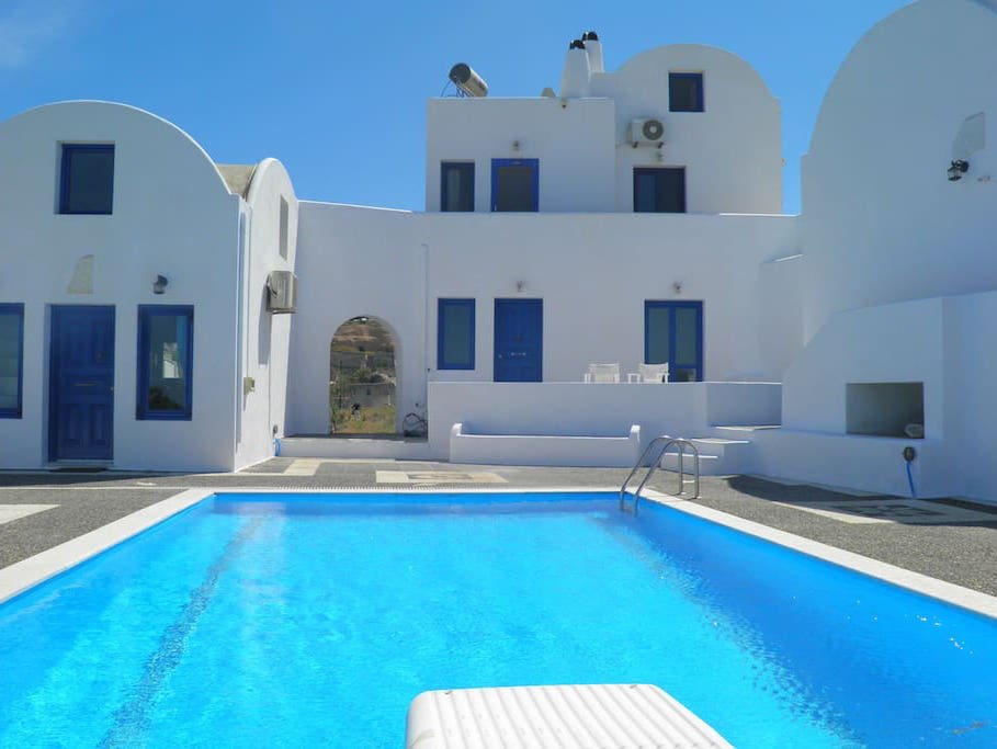 invest santorini hotel for sale 11 - Big Houses With Pools For Sale