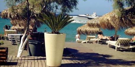 Beach Bar for Sale Santorini