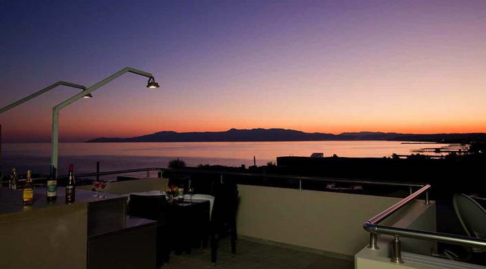Seafront villa with roof top pool for Sale at Chania Crete  16