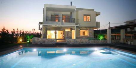 NEW Villa 5 Bedrooms ,210 m2, Sea View, Kassandra Halkidiki