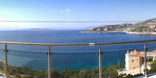 Luxury Villa at Schinia Athens, sea view, 150m to the beach