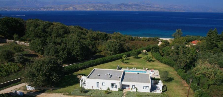 Villa By The Sea Corfu Greece