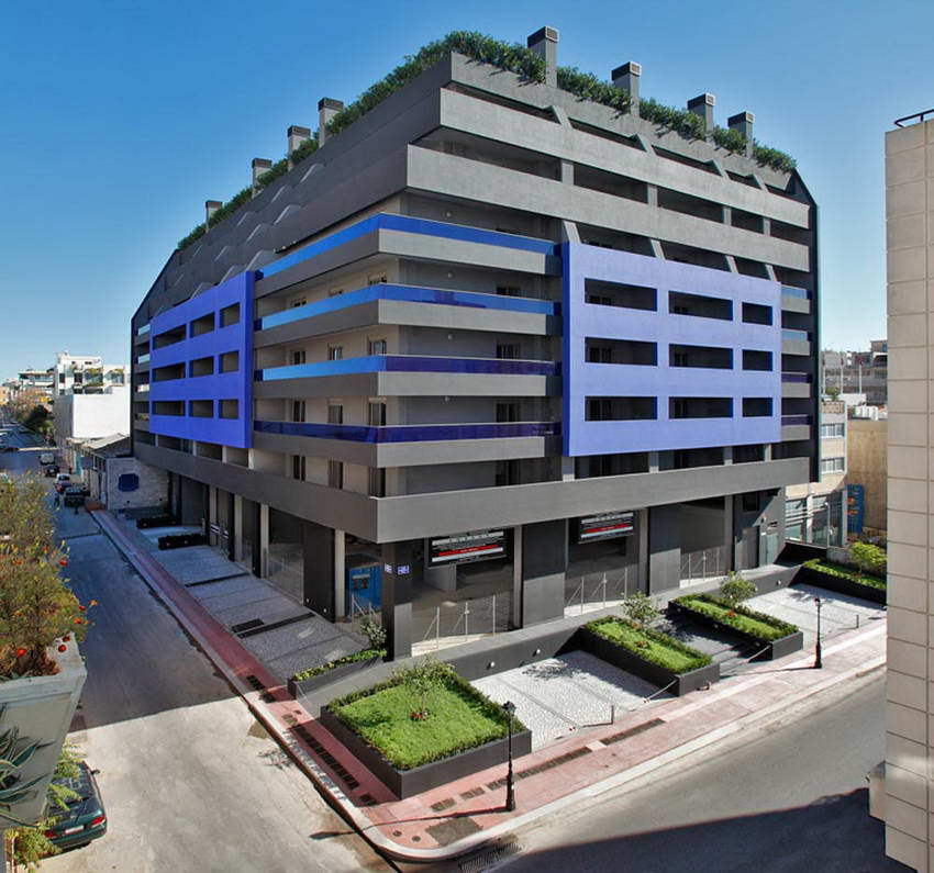 NEW Luxury Building with 87 Apartments!  Central Piraeus Athens