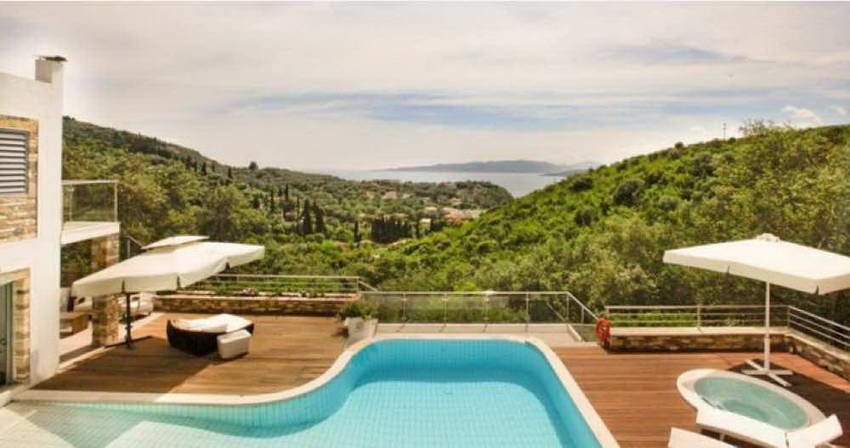 Luxury villa in Corfu, Greece Reduced Price 250.000€