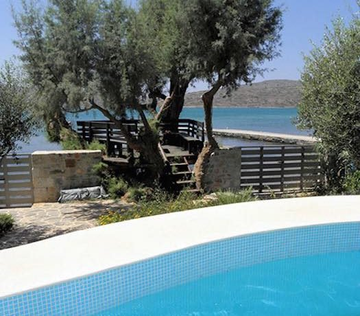 Seafront Villa at Elounda with Private Beach 30