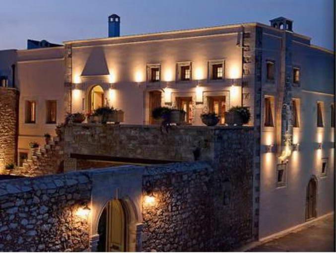 Villa boutique hotel for sale rethymno crete greek for Boutique hotel for sale