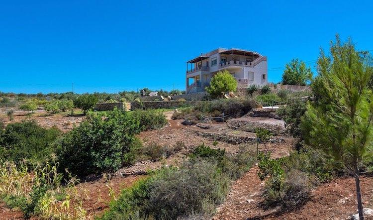 Luxury Villa Akrotiri Chania 1