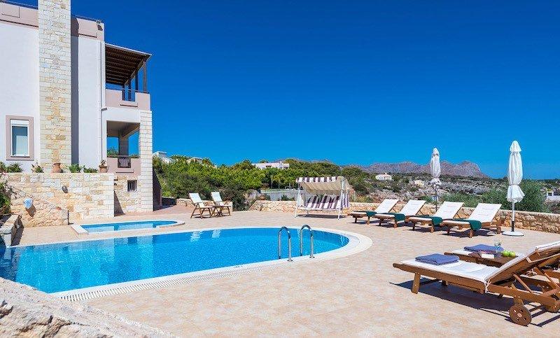 Luxury Villa Akrotiri Chania for sale Crete Greece