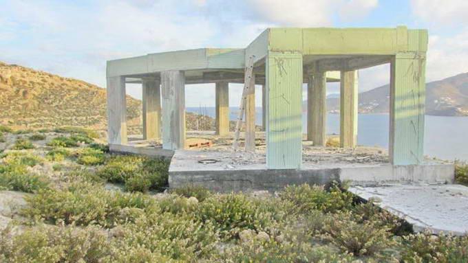 Mykonos Greece sea view Villa unfinished for SALE 02