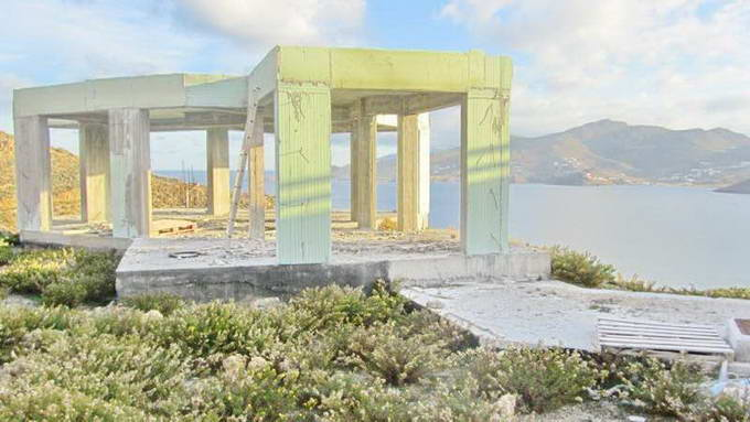 Mykonos Greece sea view Villa unfinished for SALE 03