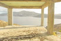 Mykonos Greece sea view Villa unfinished for SALE 04