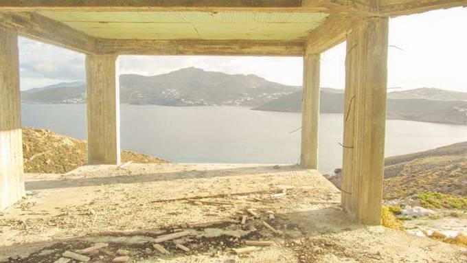 Mykonos Greece sea view Villa unfinished for SALE 04