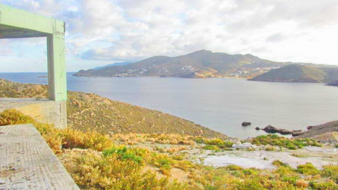 Mykonos Greece sea view Villa unfinished for SALE 07