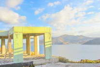Mykonos Greece sea view Villa unfinished for SALE 09