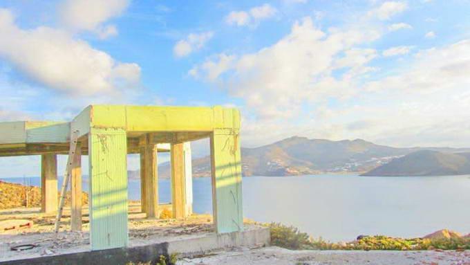 Mykonos Greece sea view Villa unfinished for SALE 09