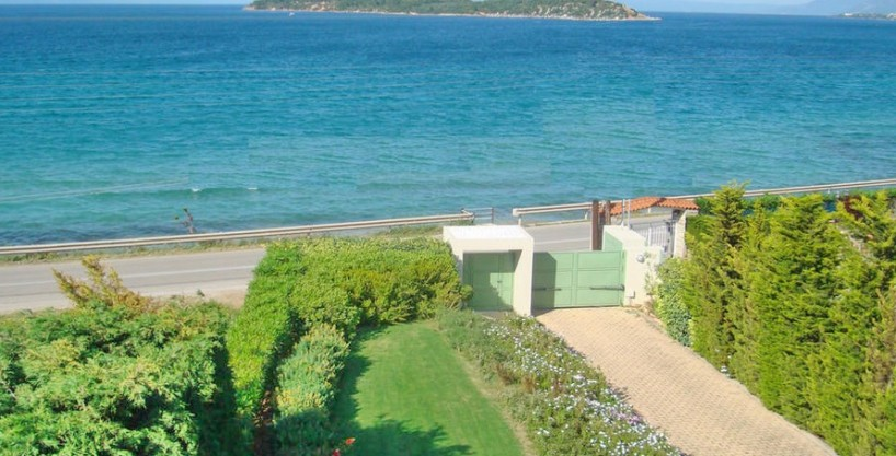 3 Seafront Luxury Villas For Sale, Attica, Drosia