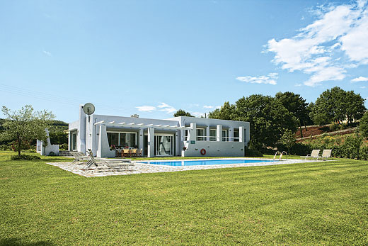 Rental villa in Corfu