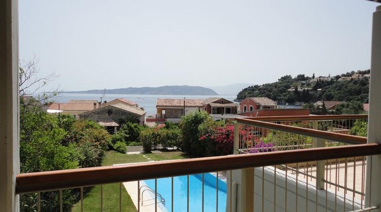 Complex villas with pool