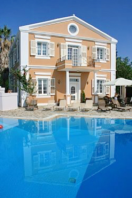 Historical Villa in Corfu for rent