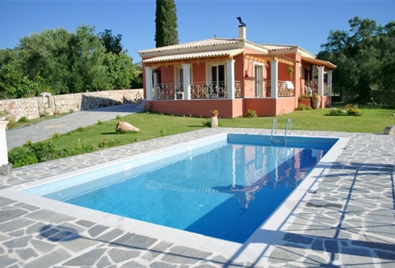 Luxury villa for rent in Corfu, Greece