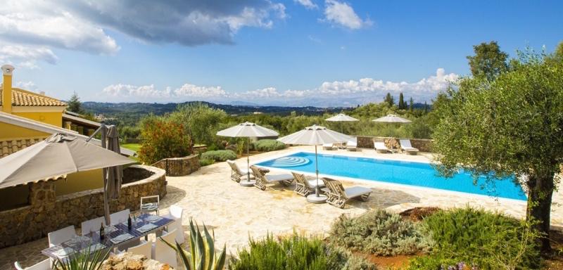 Luxury Villa Rent Corfu