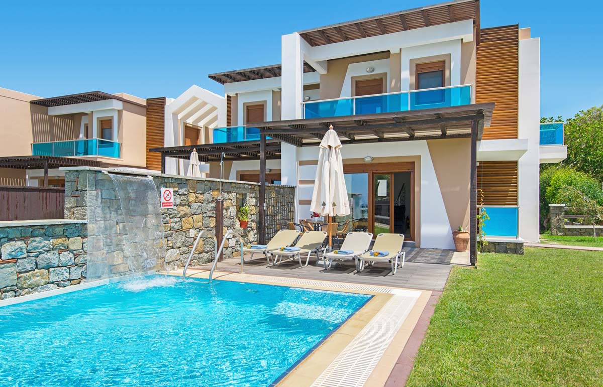Rhodes Beach Villa Greek Exclusive Properties Real