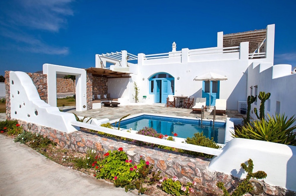 Santorini Villas For Rent Greece