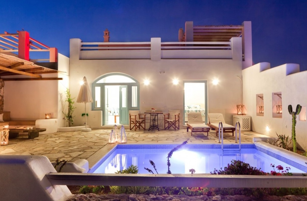 Santorini Villas For Rent