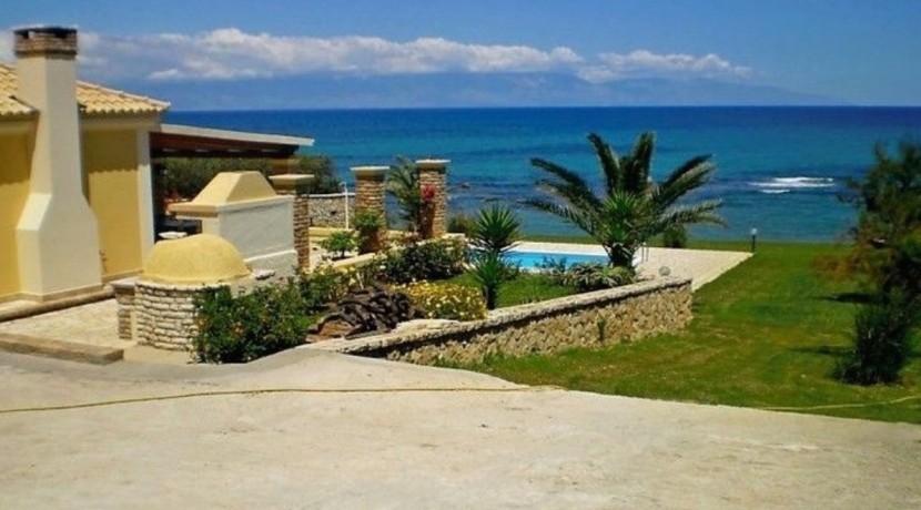 Seafront Villa Greece Corfu 02