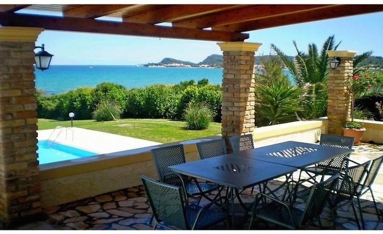 Seafront Villa Greece Corfu 08