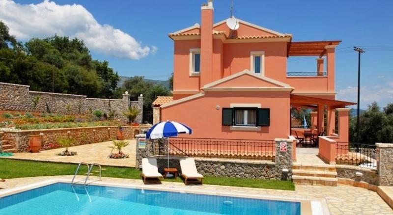 villas for rent in Corfu