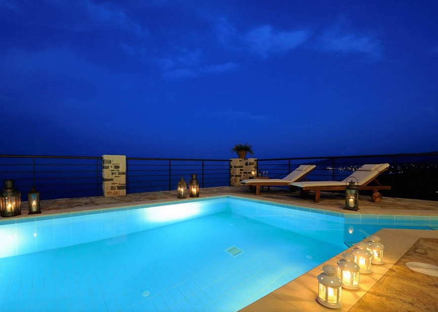 Luxury villas for rent in Crete with private pool, Greece