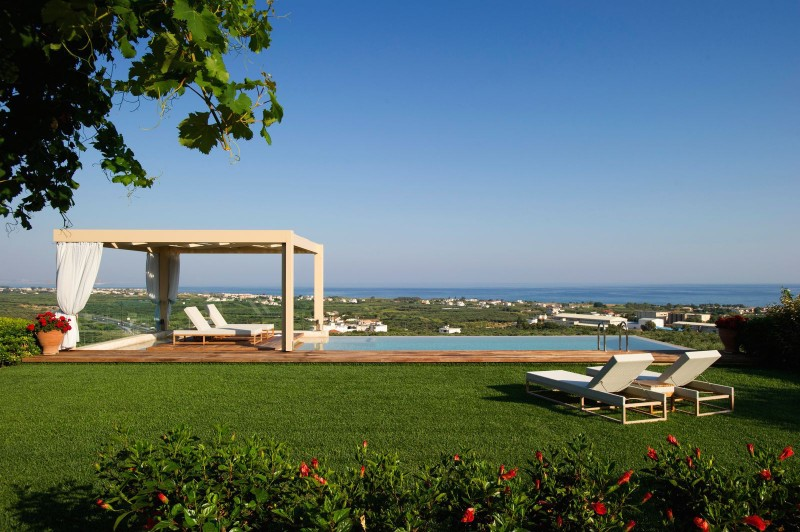 villa with sea view for rent
