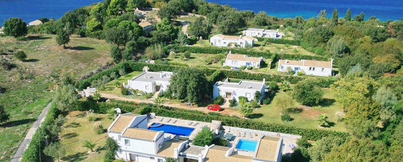 Villa for rent in Corfu and private heating pool