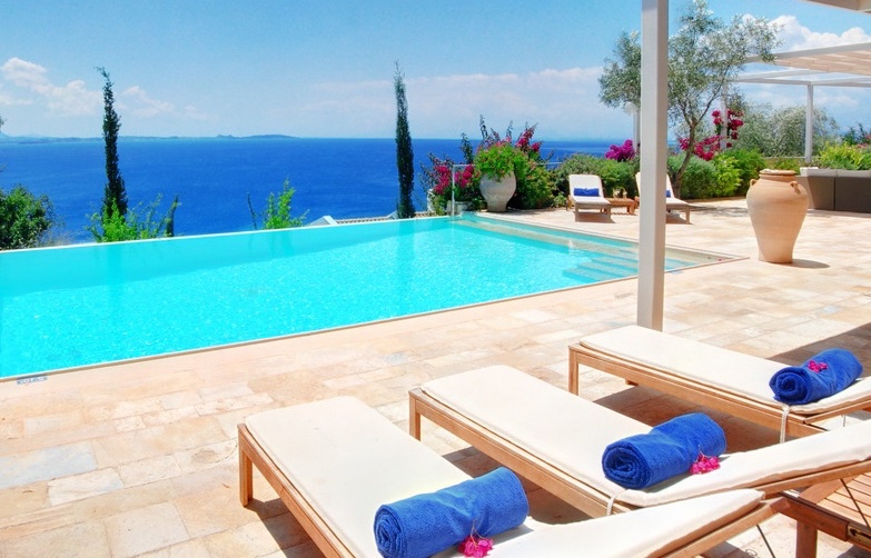 Seafront Villa With Private Beach For Greek Properties