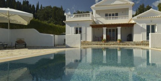 Villa with Pool For sale Corfu Greece