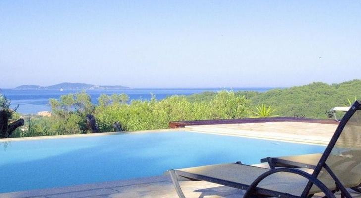 Seafront Villa in Corfu for Sale